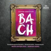 reinhard goebel - orchesterwerke und kammermusik - johann sebastian bach - cd