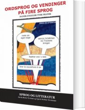 ordsprog og vendinger på fire sprog - bog