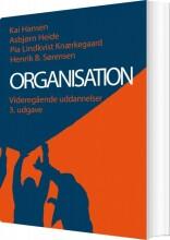 organisation - videregående uddannelser - bog