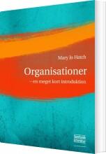 organisationer - en meget kort introduktion - bog