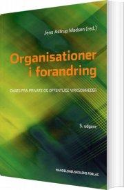 organisationer i forandring - bog