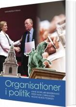organisationer i politik - bog