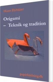 origami - teknik og tradition - bog