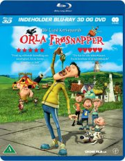 orla frøsnapper - 3d  - BLU-RAY+DVD