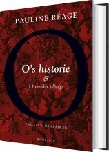 o's historie og o vender tilbage - bog
