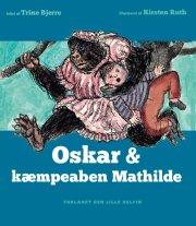oskar & kæmpeaben mathilde - bog