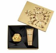 paco rabanne - lady million edp 80 ml + body lotion 100 ml - gavesæt - Parfume