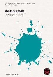 pædagogik - pædagogisk assistent - bog