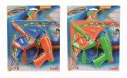 legetøjspistol affyrer propel med paraglider - rød/grøn - Udendørs Leg