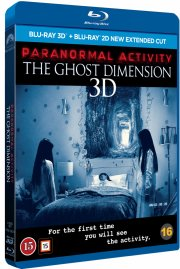 paranormal activity 5: the ghost dimension - 3d - Blu-Ray