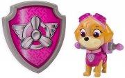 paw patrol - action pack pup & badge - skye - Figurer