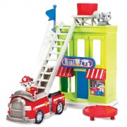 paw patrol - adventure bay town set incl. marshall - Figurer