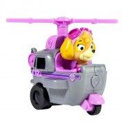 paw patrol - basic vehicle with pup - skye - Figurer