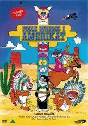 pelle haleløs i amerikat / pelle svanslös i amerikatt - DVD