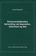 pensionsrettigheders behandling ved separation, skilsmisse og død - bog