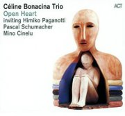 céline bonacina trio - open heart - cd