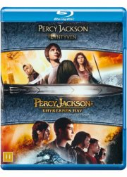 percy jackson og lyntyven + percy jackson og uhyrernes hav - Blu-Ray