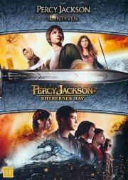 percy jackson og lyntyven + percy jackson og uhyrernes hav - DVD