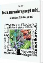 pesto, marinader og meget andet - bog