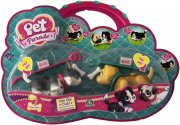 pet parade - husky og labrador - twin puppy pack - Figurer