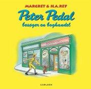peter pedal besøger en boghandel - bog