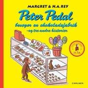 peter pedal besøger en chokoladefabrik og tre andre historier, jubilæumsudgave  - rød
