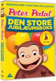 peter pedal / curious george boks 1-3 - dansk - DVD