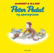 peter pedal og sparegrisen - bog