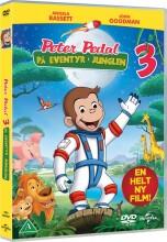peter pedal 3 - på eventyr i junglen - DVD