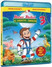 peter pedal 3 - på eventyr i junglen - Blu-Ray