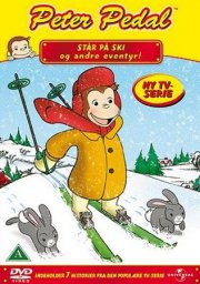 peter pedal står på ski og andre eventyr - DVD