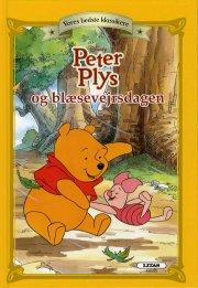 peter plys og blæsevejrsdagen - bog