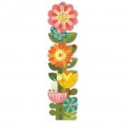 højdemåler - petit collage - blomster - Til Boligen