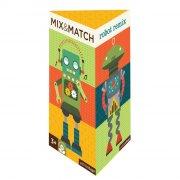 petit collage - mix&match puslespil - robot remix - Brætspil