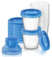 philips avent via opbevaring til modermælk - 180 ml - 10-pack - Babyudstyr