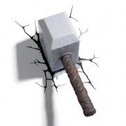 marvel avengers thors hammer lampe - Til Boligen