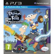 phineas and ferb: across the second dimension - PS3