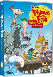 phineas & ferb: the daze of summer - DVD