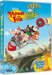 phineas og ferb - best lazy day ever - DVD