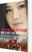pigen med de syv navne - bog