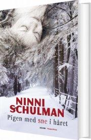 pigen med sne i håret - bog