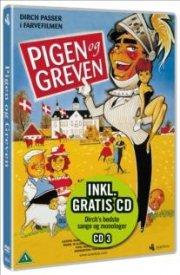 pigen og greven - 12 gode grin med dirch - vol. 3  - dvd+cd