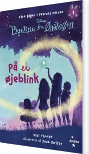 pigerne fra ønskeøen 1: på et øjeblink - bog