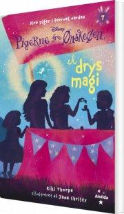 pigerne fra ønskeøen 7: et drys magi - bog