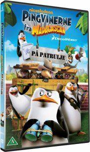pingvinerne fra madagascar: på patrulje - DVD
