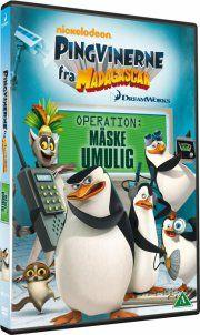 pingvinerne fra madagascar vol. 4 - operation måske umulig - DVD