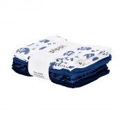 pippi stofbleer / stof bleer - 8-pack - blå - Babyudstyr