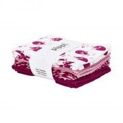 pippi stofbleer / stof bleer - 8-pack - rosa - Babyudstyr