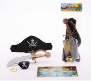 pirat legesæt - 5 dele - Udklædning