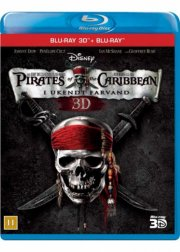 pirates of the caribbean 4 - i ukendt farvand - 3d - Blu-Ray